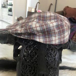 PENDLETON Flannel Plaid Wool Driving Hat